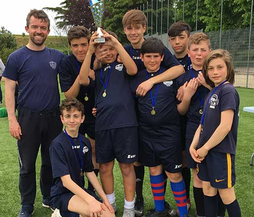 Castelli U14 Crowned RISA Cup Champions!!!